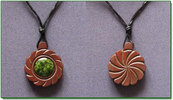 Ringing Cedars. Cedar Amulet Flower of Sun