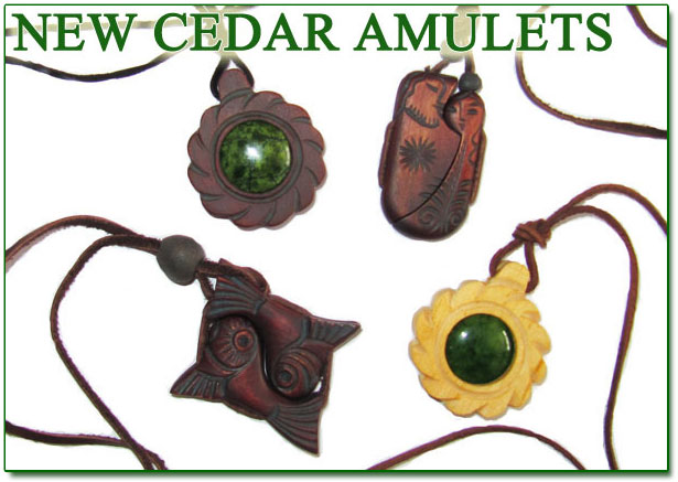 Cedar amulets cedar pendants cedar pendants aloadofball Image collections