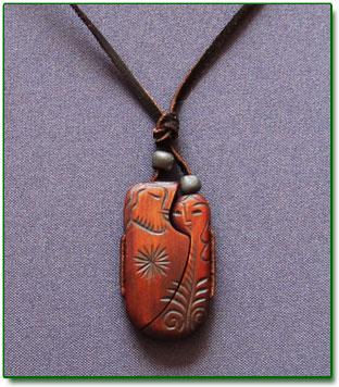 Ringing Cedars. Cedar pendant