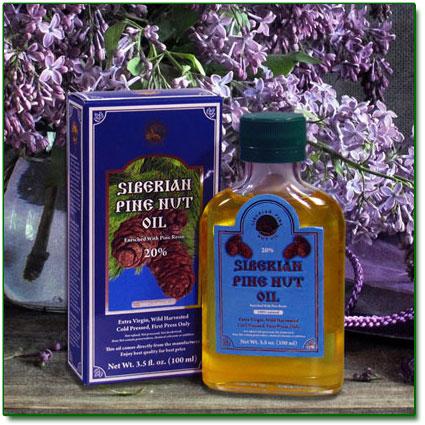 Cedar Nut Oil with Resin