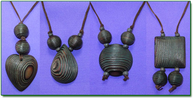 Ringing Cedars. Larch Pendants