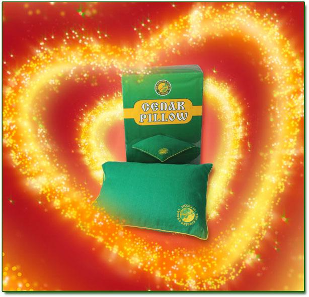 Cedar Pillow - Valentines Gift